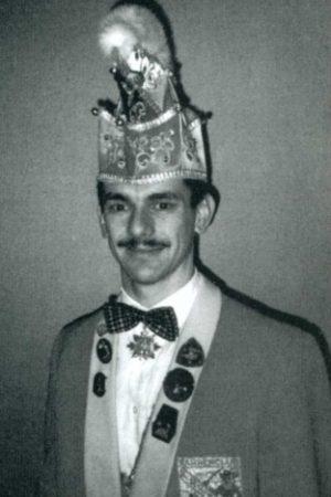 Seit 1995: Hansjörg Peter